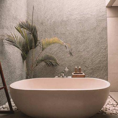 صورة لقسم حمام