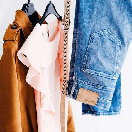 صورة لقسم ملابس