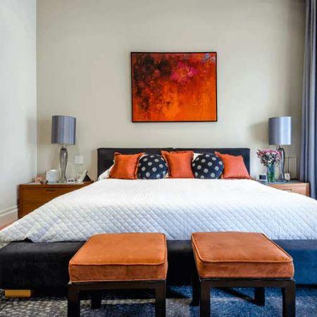 صورة لقسم غرفة نوم